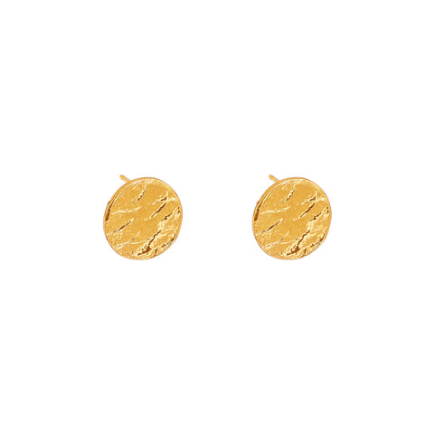 Vesper Stud Earrings | Gold