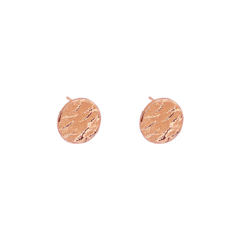 Vesper Stud Earrings | Rose