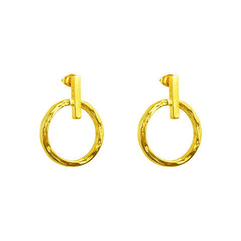 Zoe Earrings | Gold