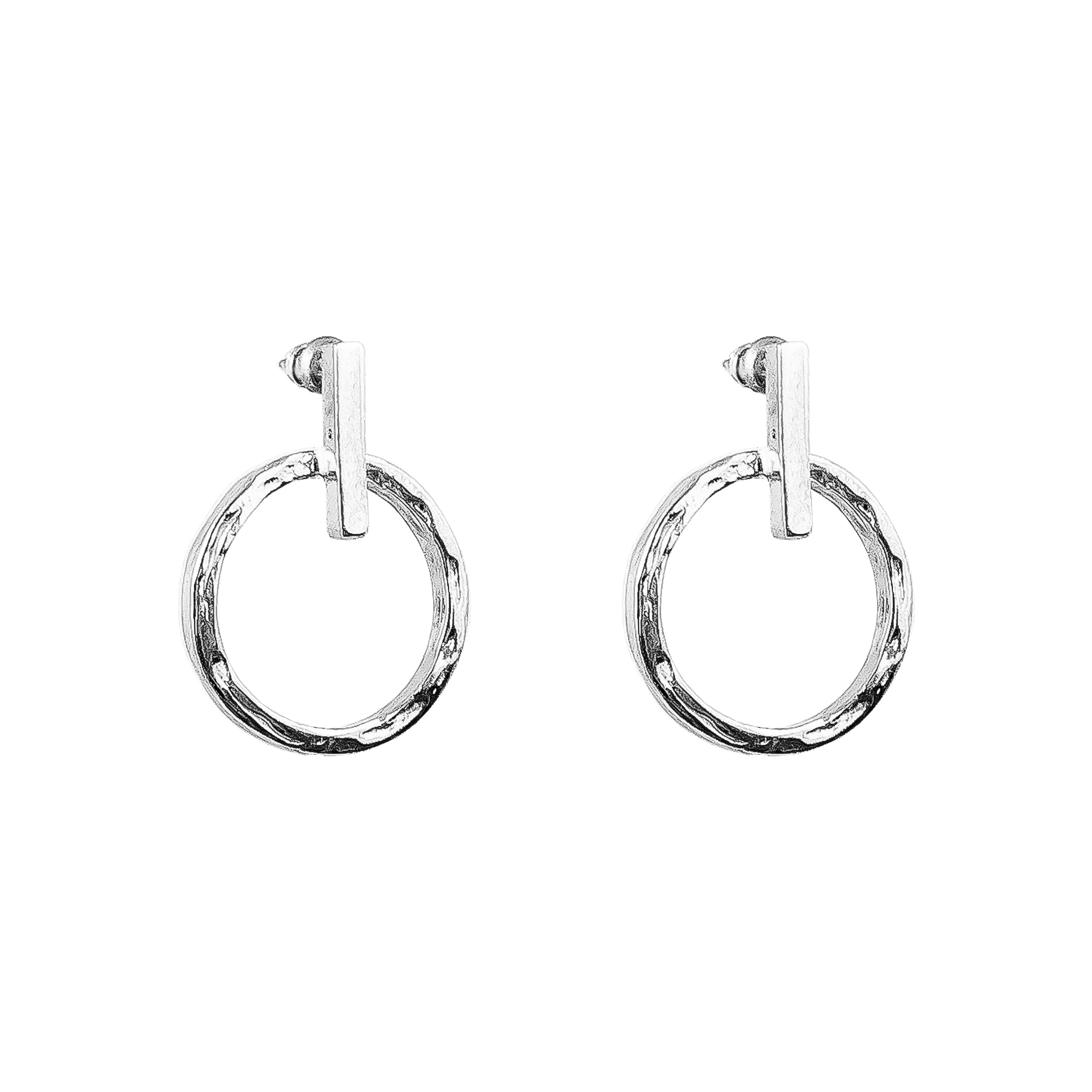 Zoe Earrings | Silver