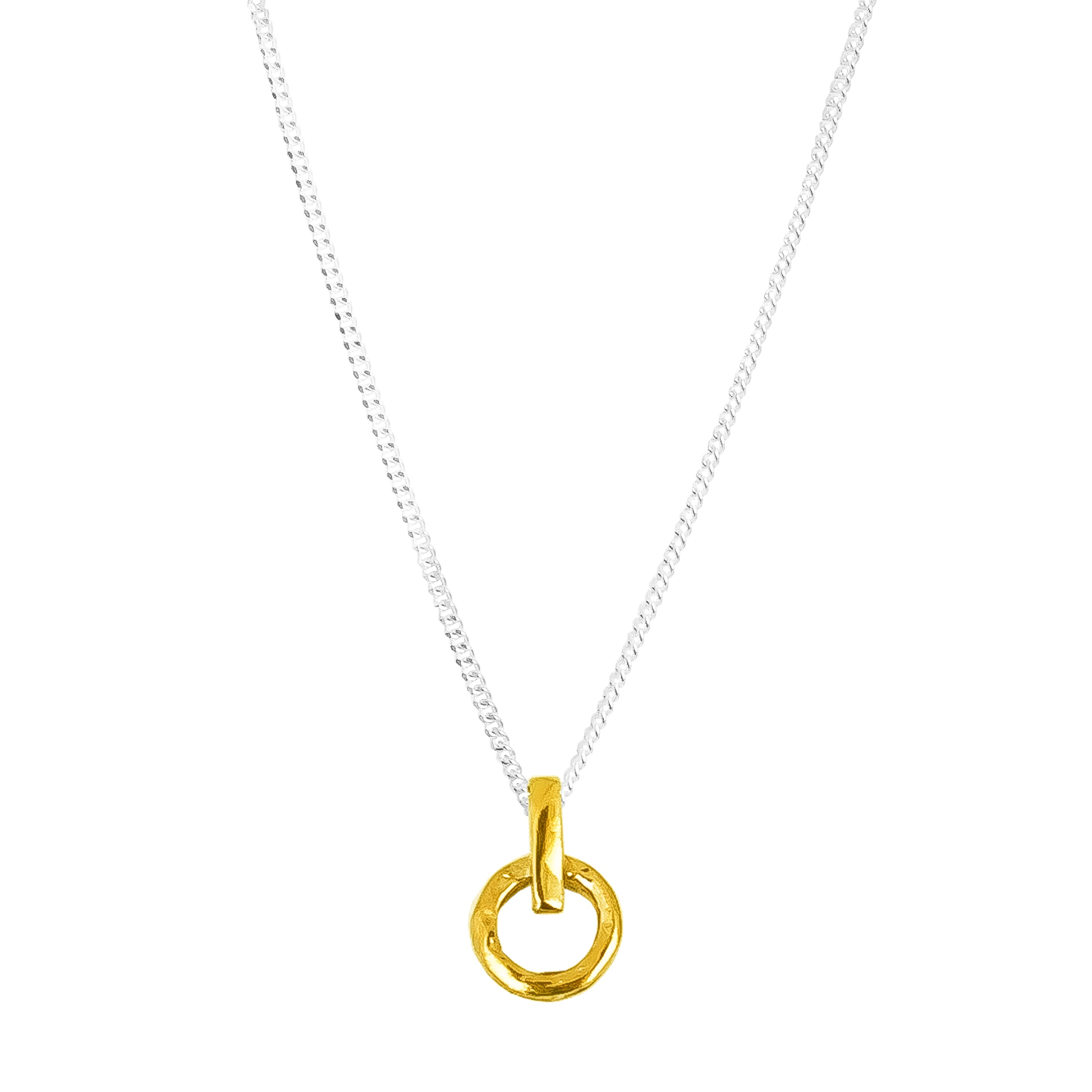 Zoe Fine Necklace | Gold
