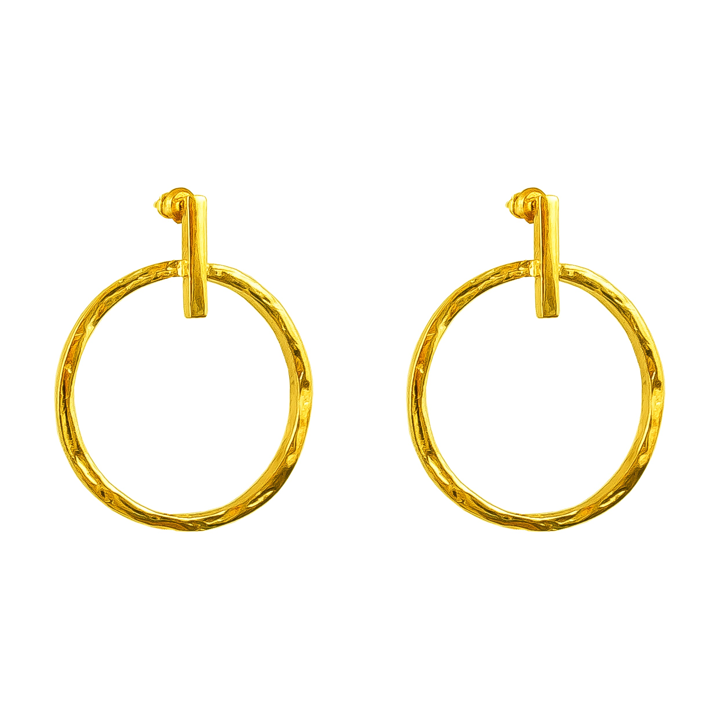 Zoe Large Earrings | Gold
