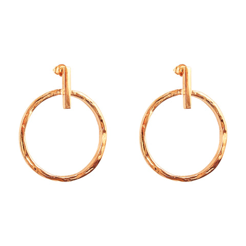 Zoe Large Earrings | Rose