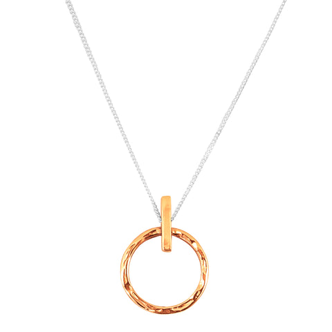 Zoe Large Necklace | Rose