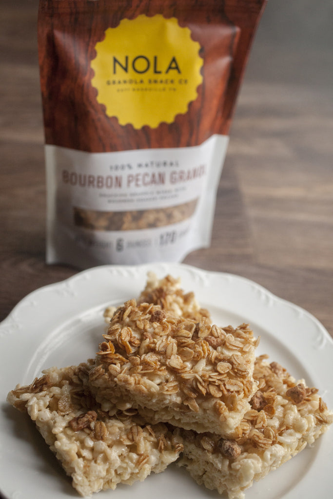 Bourbon. Pecan. Rice. Krispy. Treats.