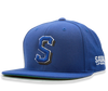 S Snap Back in royal