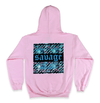 "Savage ""Not Average"" Hoodie in pink"