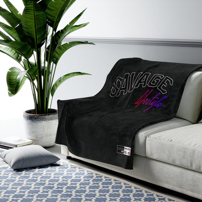 Savage Lifestyle Plush Blanket