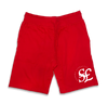 Currency jogger shorts in red