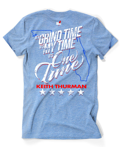 "Keith ""One-Time"" Thurman T-Shirt in light blue"