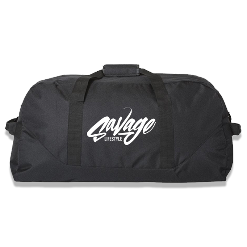 "Large 30"" Savage Duffle Bag in black"
