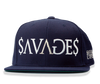 Paid in Full Snap Back in navy