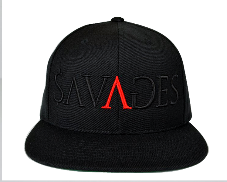 Savages Paid in Full Snap Back in black - by Savage Lifestyle