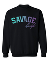 Savage Colorblend Crewneck Sweater