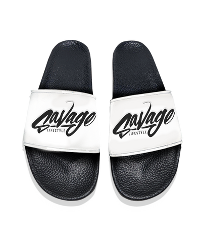 Savage Slides in White
