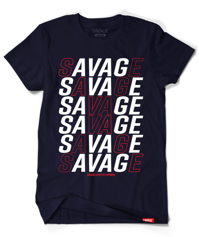 "Savage ""X"" in Navy"