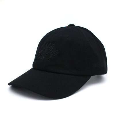 Sexy Savage Dad Hat - All Black Stitch