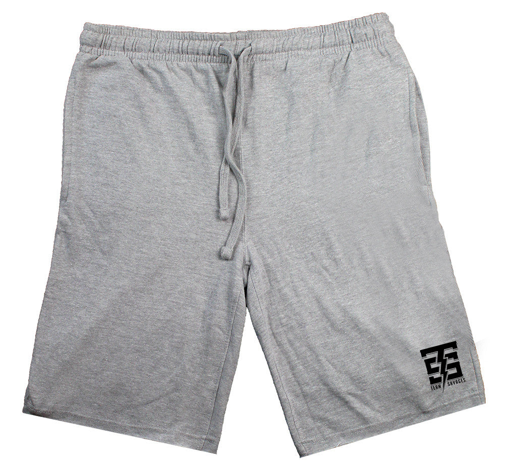 Team Savages Sweat Shorts in gray - by Savage Lifestyle