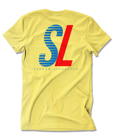 The SL t-shirt in yellow