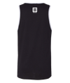 Team Savages Two Tone Tank Top in black