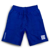 TS Brandmark jogger shorts in royal
