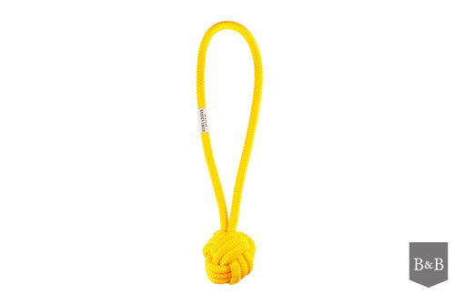 Yellow Bullet Dog Toy by Bowl & Bone Republic - Jolly and Bea's - 2