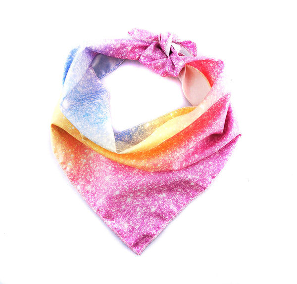 SPARKLES IN PINK DOG BANDANA