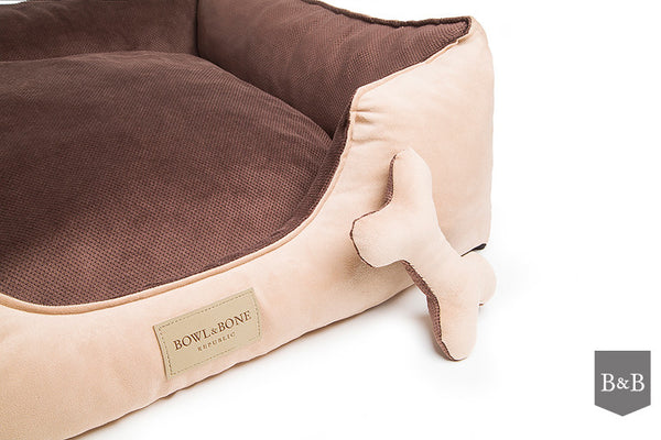 Classic Brown Dog Bed - Jolly and Bea's - 3