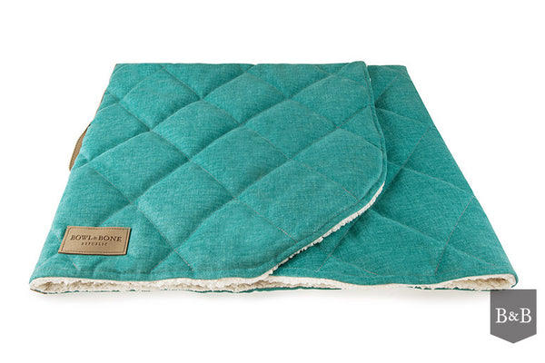 Dreamy Mint Dog Blanket - Jolly and Bea's - 6