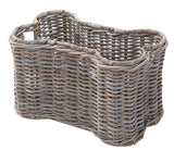 RATTAN BONE PET BASKET WITHOUT LID