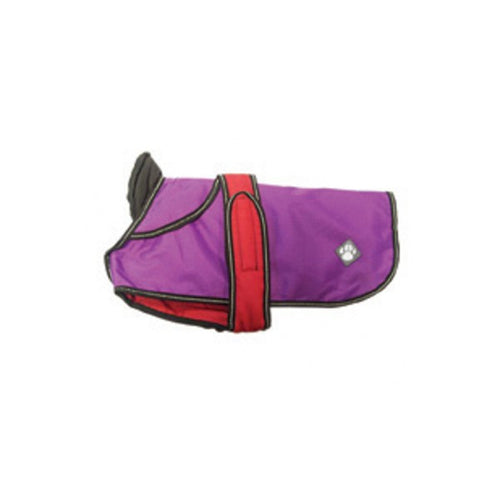 The Ultimate 2 in 1 Purple Dog Jacket - Jolly and Bea's - 2