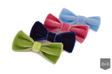 Apple Green Dog Bow - Jolly and Bea's - 2