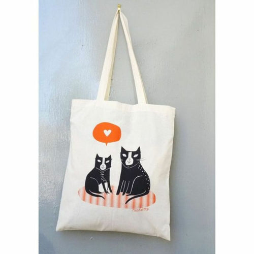 Love Cats Tote Bag - Jolly and Bea's