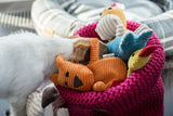 Pink Cotton Toy Basket - Jolly and Bea's - 4