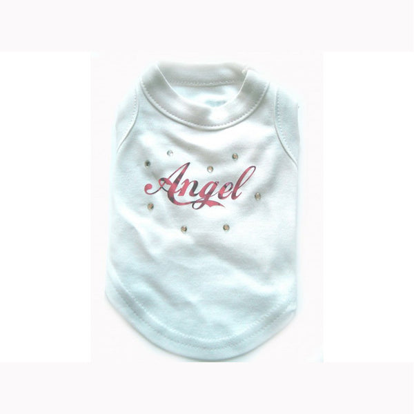 Angel Diamante Dog T-Shirt - Jolly and Bea's