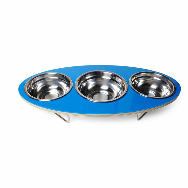 Ellipse Petbowl in Blue - Jolly and Bea's - 2