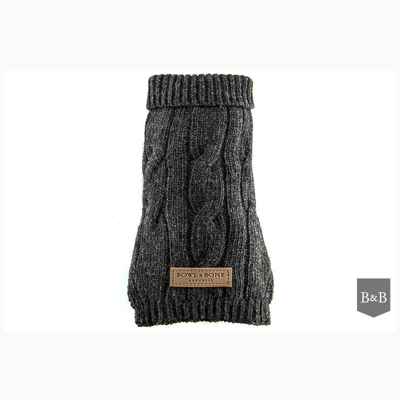 Aspen Grey Dog Pullover - Jolly and Bea's - 1