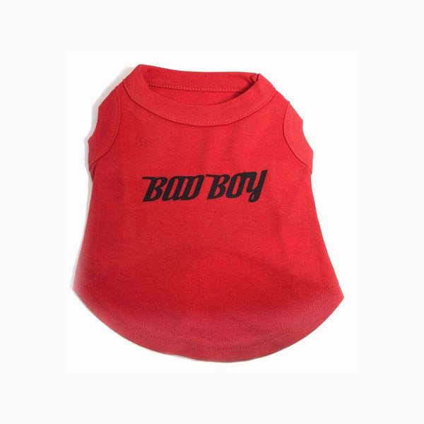 Bad Boy Dog T shirt - Jolly and Bea's