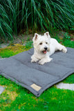 Dog Mat Grey