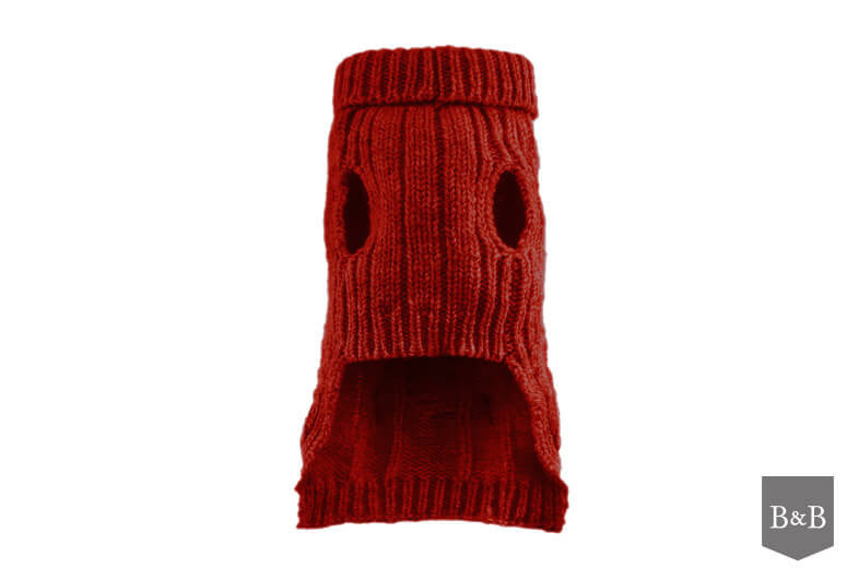 Aspen Red Dog Pullover - Jolly and Bea's - 2