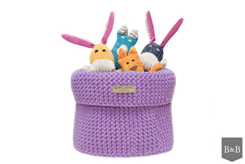 Lily Cotton Toy Basket