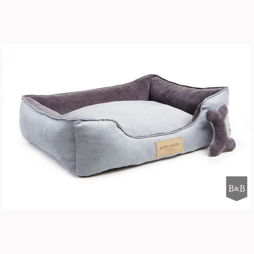 Classic Grey Dog Bed - Jolly and Bea's - 1