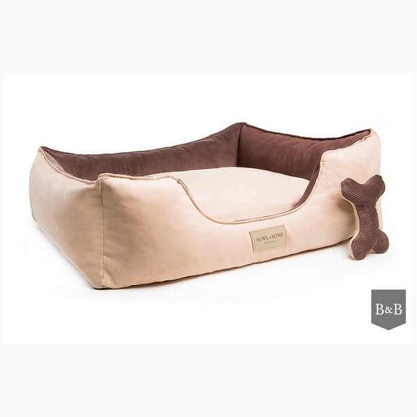 Classic Brown Dog Bed - Jolly and Bea's - 1
