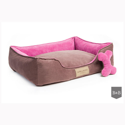 Classic Pink Dog Bed - Jolly and Bea's - 1