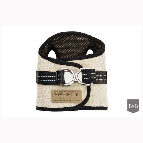 Cream Dog Harness - Jolly and Bea's - 1
