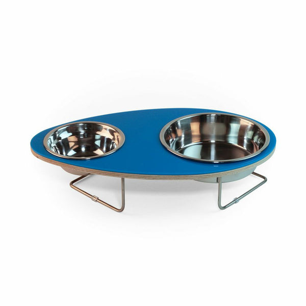 Eggy Pet Bowl in Blue - Jolly and Bea's - 1