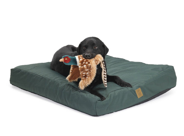 ALL WEATHER MATTRESS DOG BED GREEN