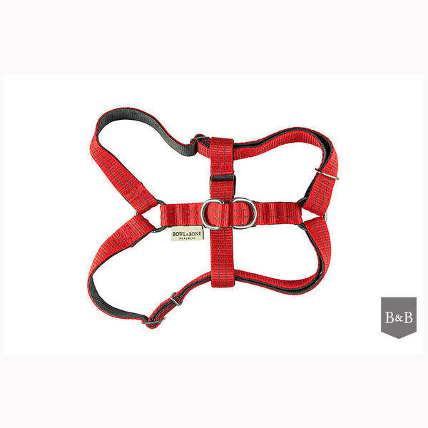 Red Active Dog Harness - Jolly and Bea's