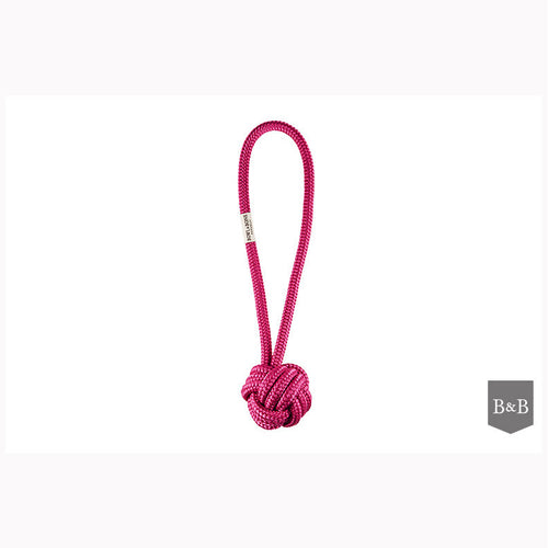 Pink Rope Dog Toy - Jolly and Bea's - 2