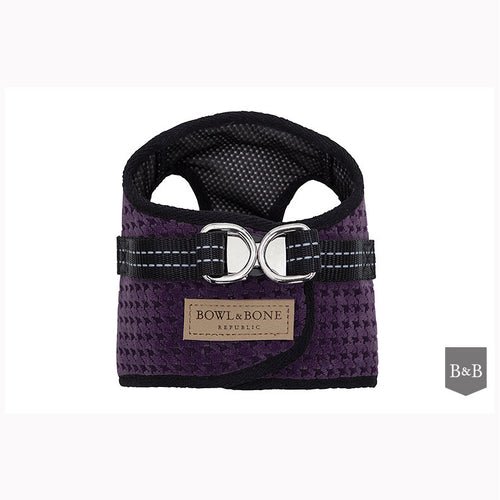 Purple Dog Harness - Jolly and Bea's - 1